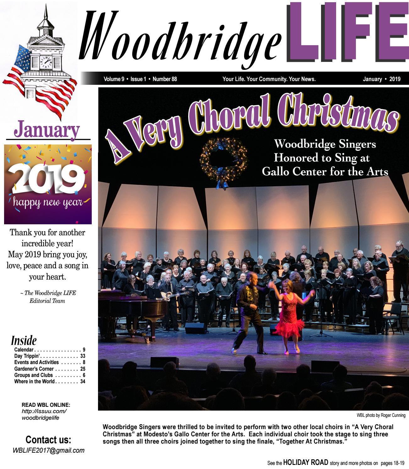 Wbl January 2019 By Woodbridge Life  Issuu intended for B Gale Wilson Calendar