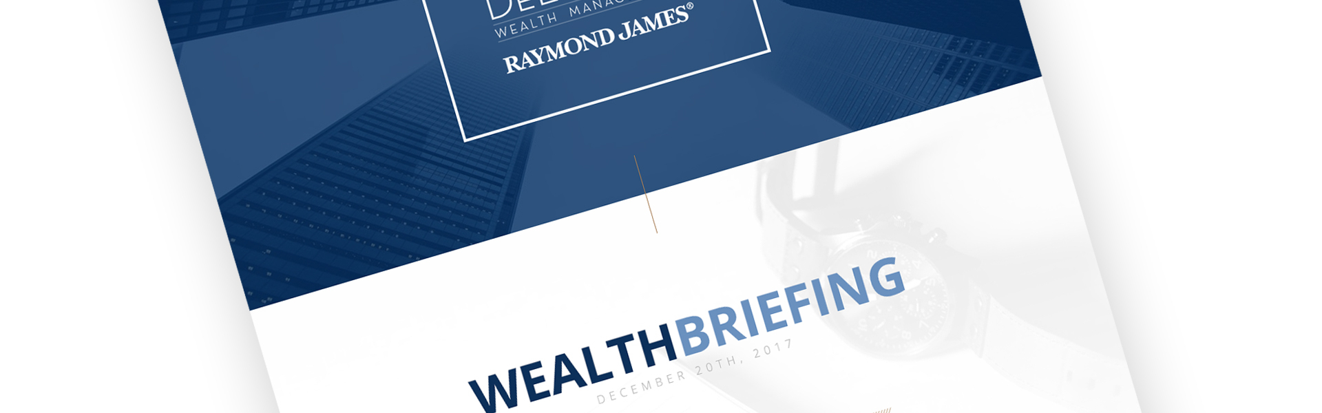 Wealth Briefing: November 2019  Delarme Wealth Management within Raymond James Economic Calendar