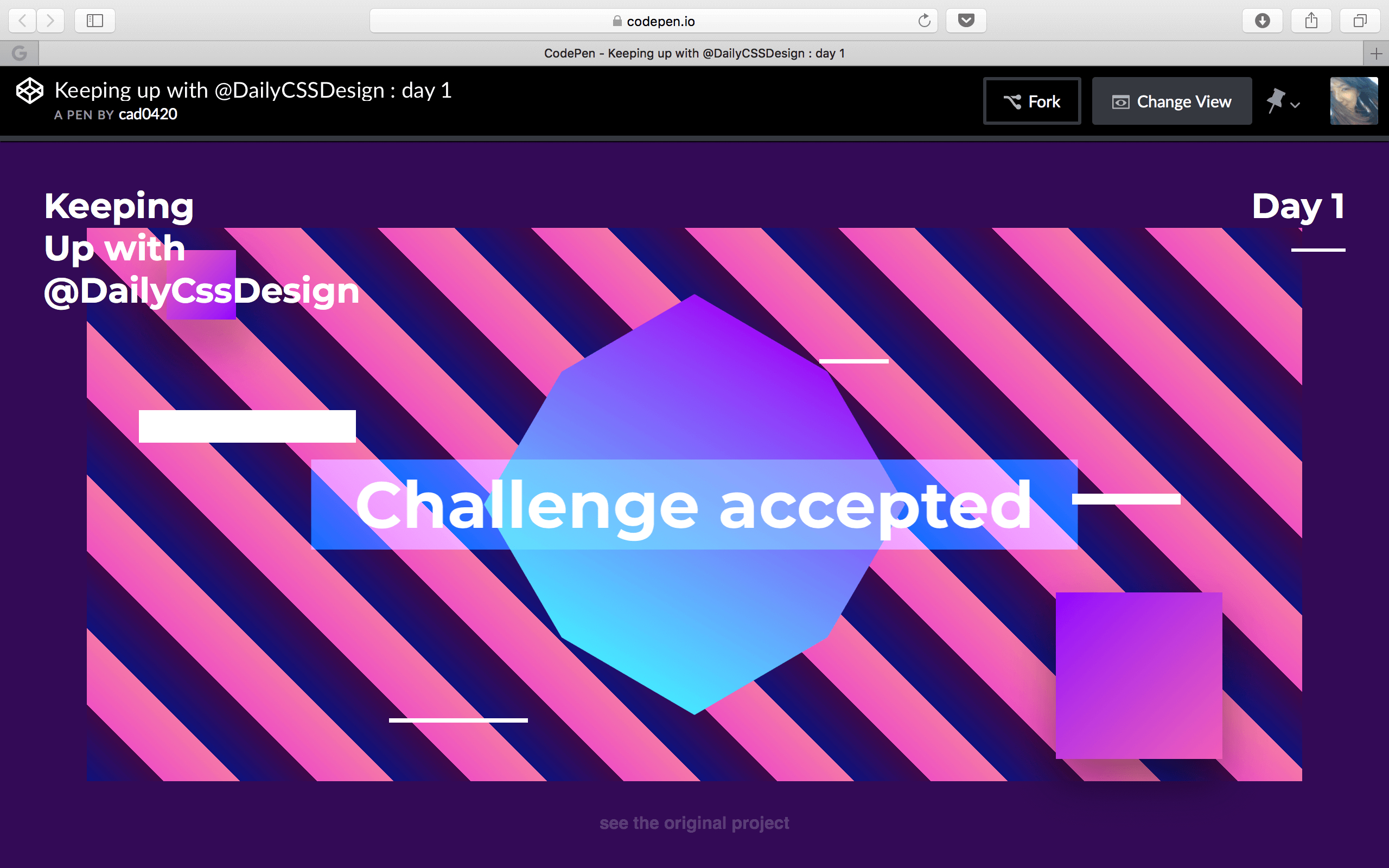 Web Animation Exercises ▽△ Cad0420 with regard to Daily Css Challenge