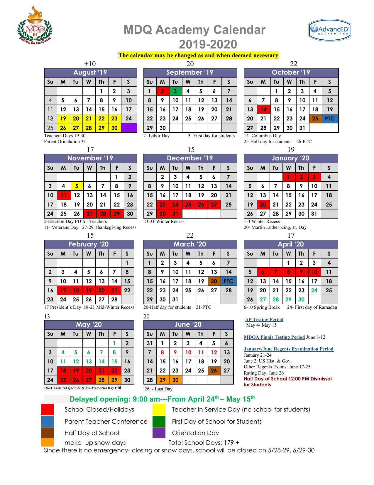 Welcome To Mdq Academy  Mdq Academy regarding Red Deer School Calendar