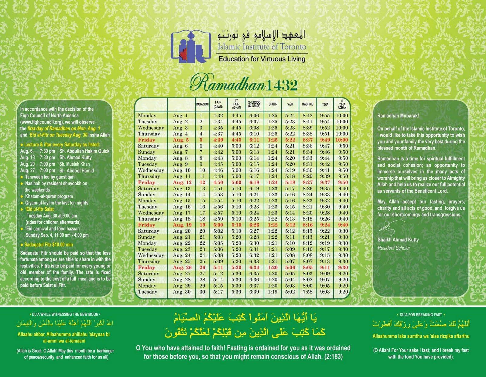 What In The World?: Ramadan with regard to Lunar Calendar Isha