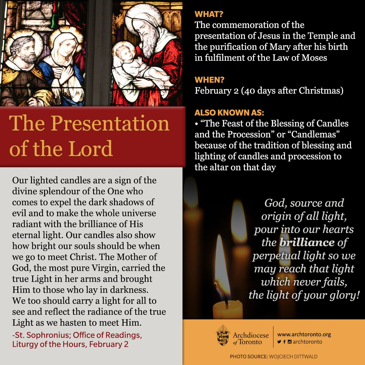 What Is The Feast Of The Presentation Of The Lord? #feastday with regard to Catholic Extension Calendar