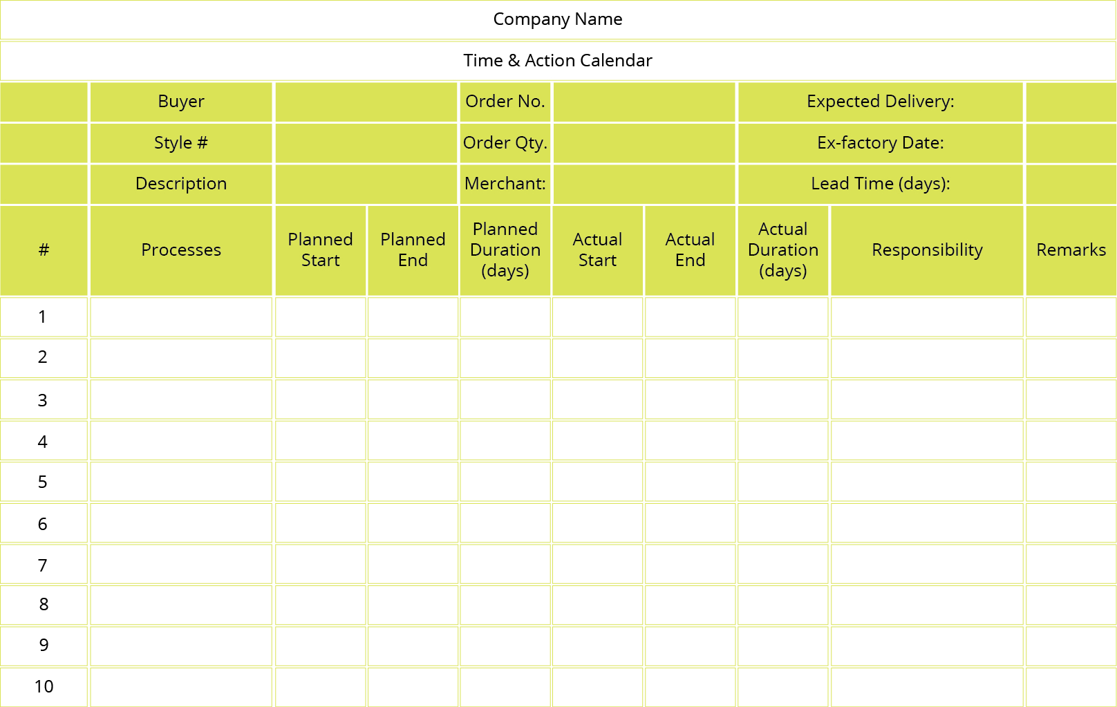 What Is Time & Action Calendar?  Stitchdiary  Medium inside Time And Action Calendar