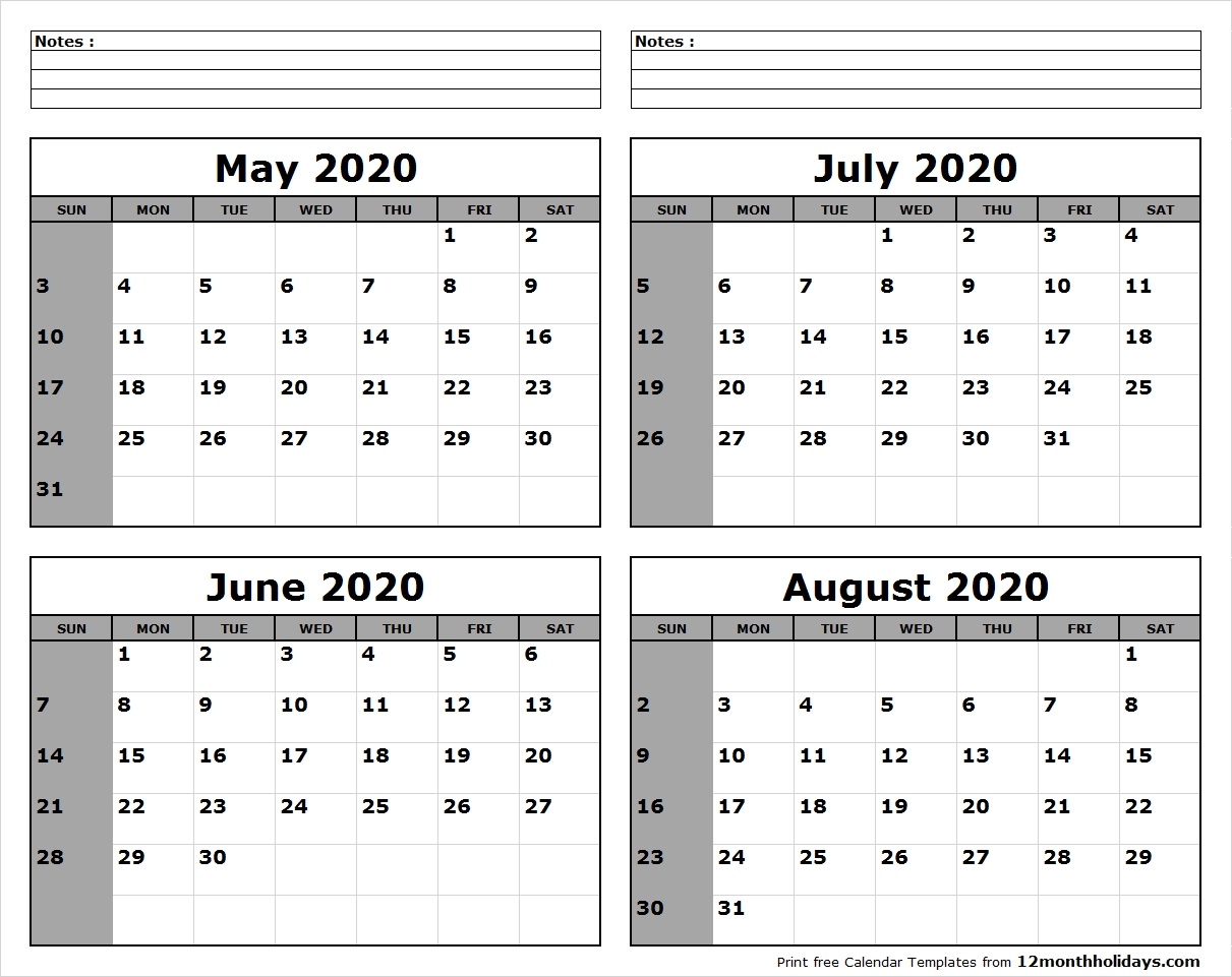 When To Plant Vegetables Calendar | Example Calendar Printable inside May June July August 2020 Calendar