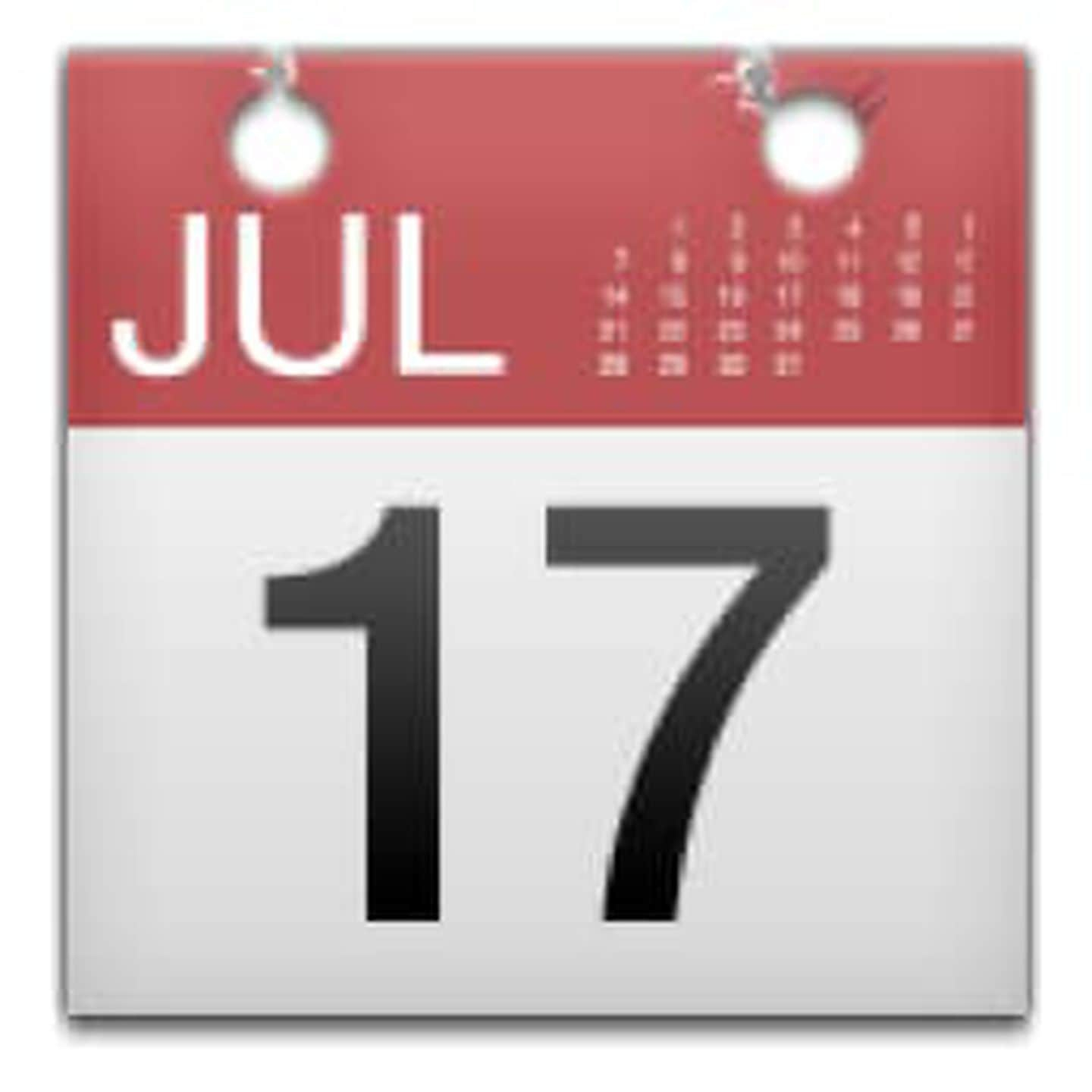 Why Is July 17 The Date On The Emoji Calendar?  The with Calendar Emoji Png