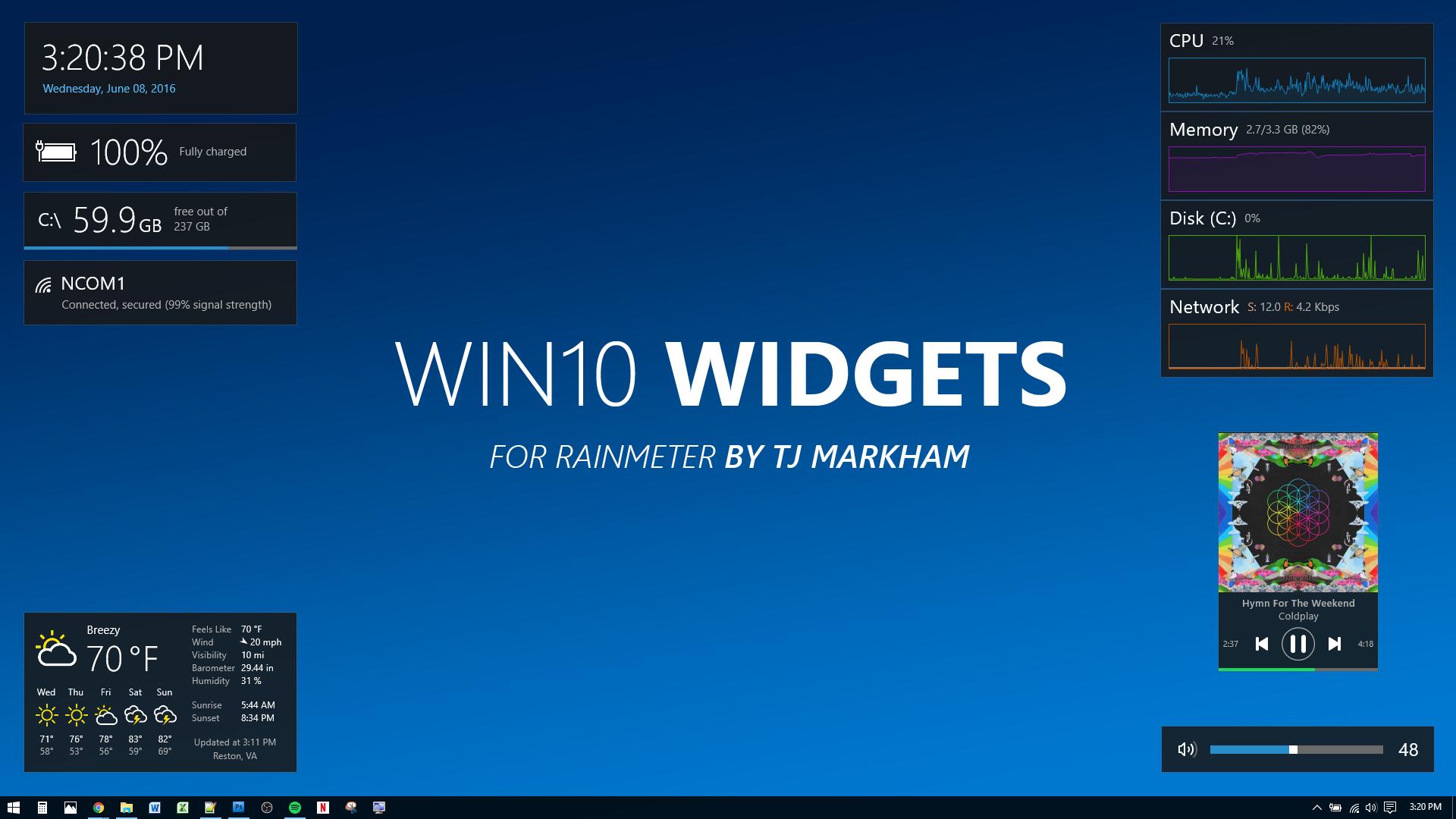Win10 Widgets  Widgets For Windows 10 regarding Calendar Gadget For Windows 10