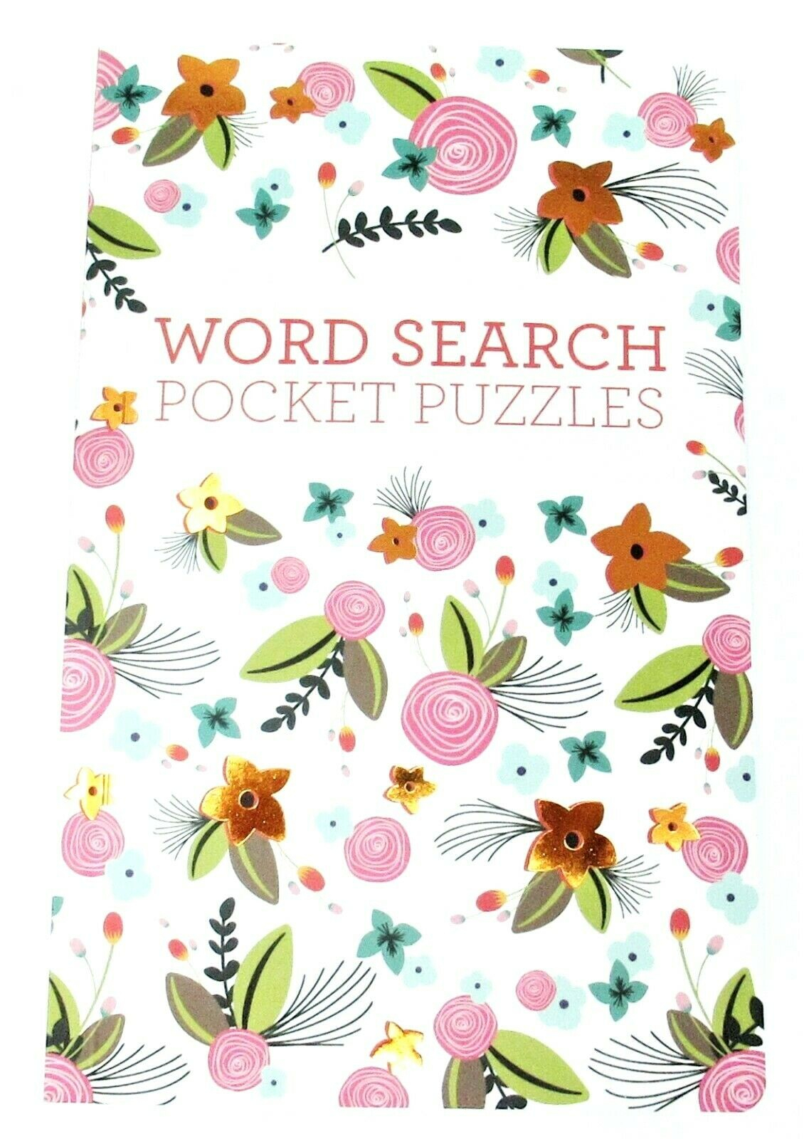 "Word Search Puzzle Book Seek Find 64 Puzzles 8"" X 5"" Purse, Travel Size  (Vol 2) for Disney Princess Word Search"