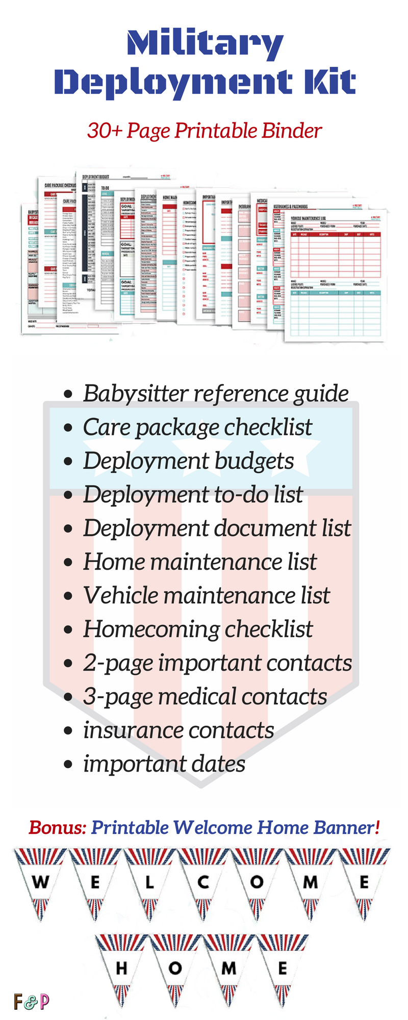 Wow, This Printable Deployment Kit Covers Everything A pertaining to Deployment Countdown Excel