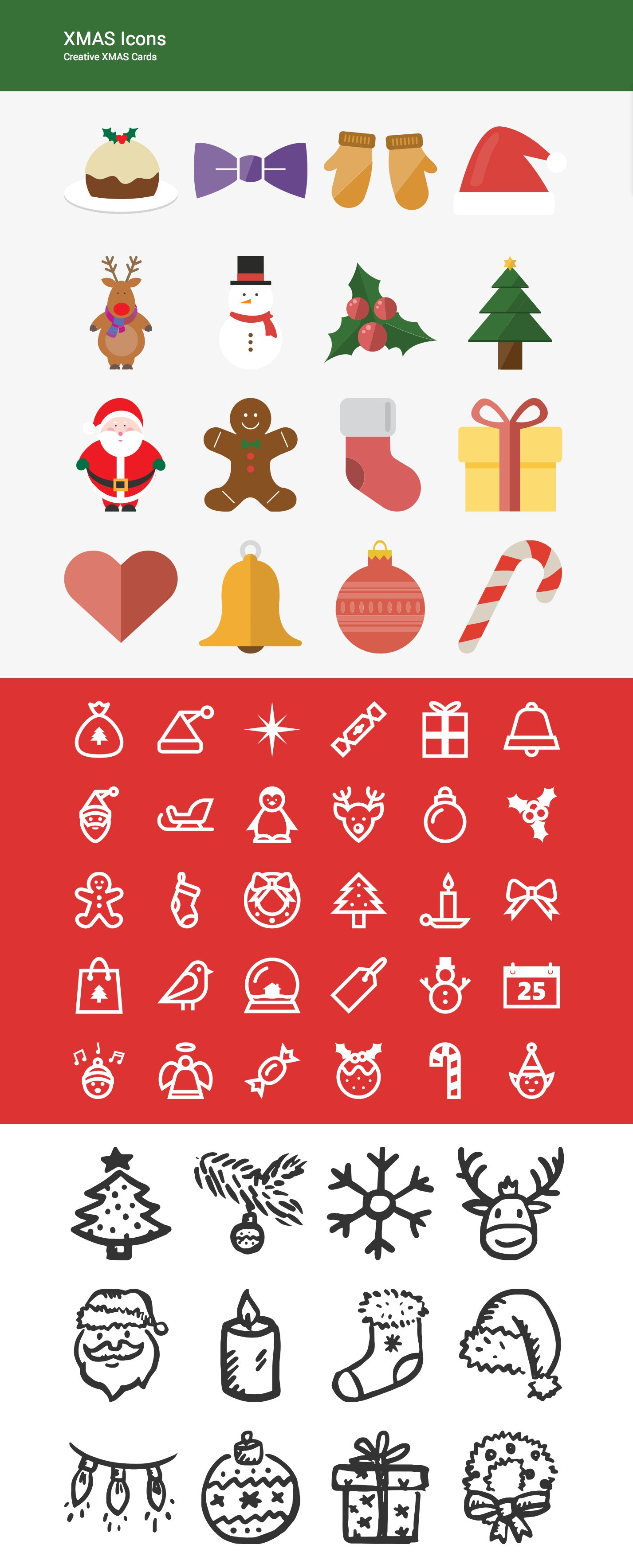 Xmas Icons Set  Supreme Shortcodes WordPress Plugin | Icon with Advent Calendar WordPress Plugin