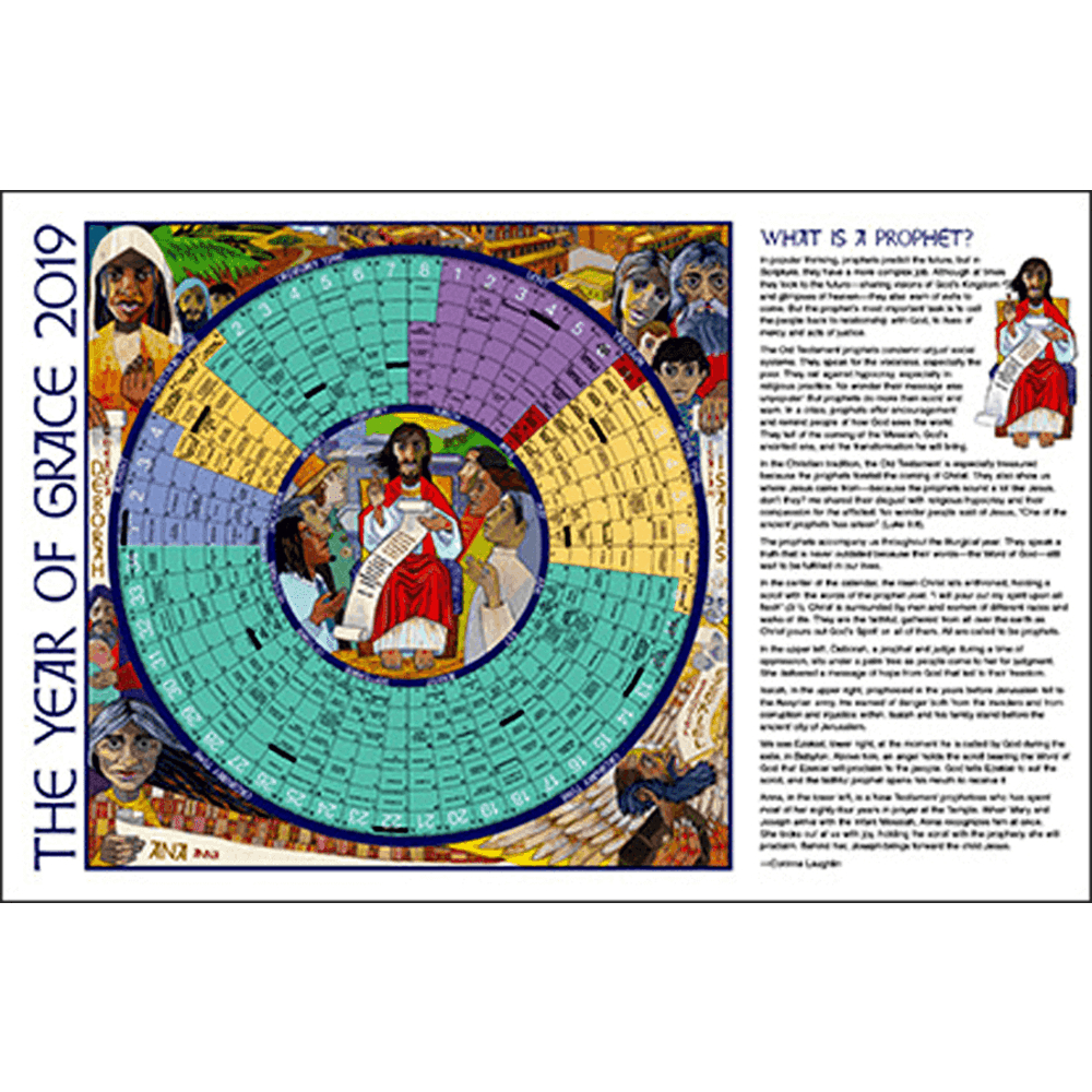 Year Of Grace Liturgical Calendars 25 Pack: 2020 Paper Notebook Edition |  Aquinas And More Catholic Gifts regarding Liturgical Calendar 2020 Printable