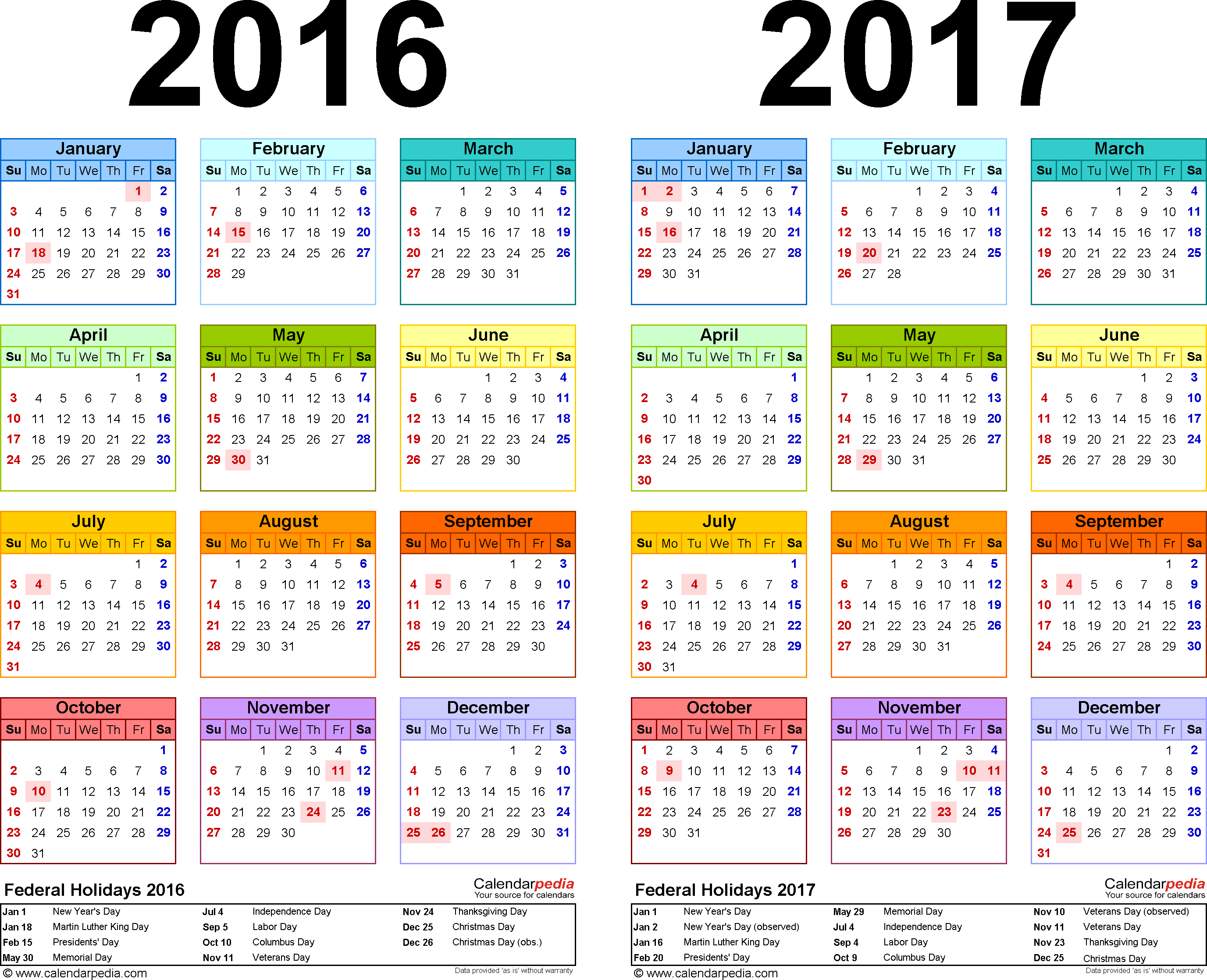 Yearly Calendar 2017 | Templates Free Printable with regard to 2017 School Calendar South Africa