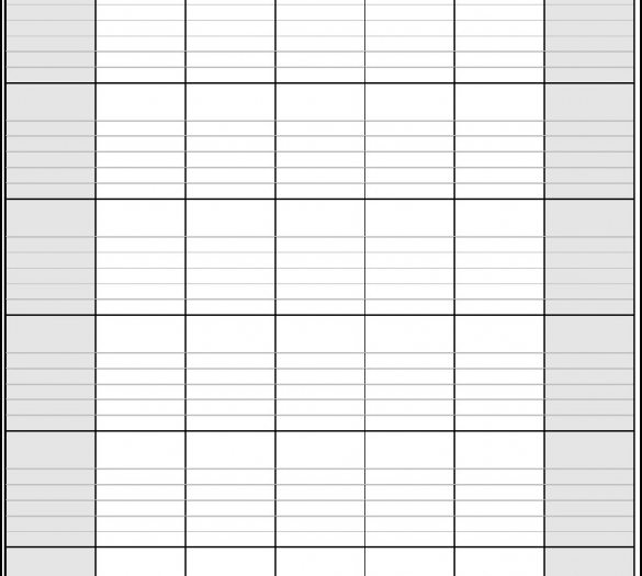 Free Printable Monthly Calendar Pages With Lines