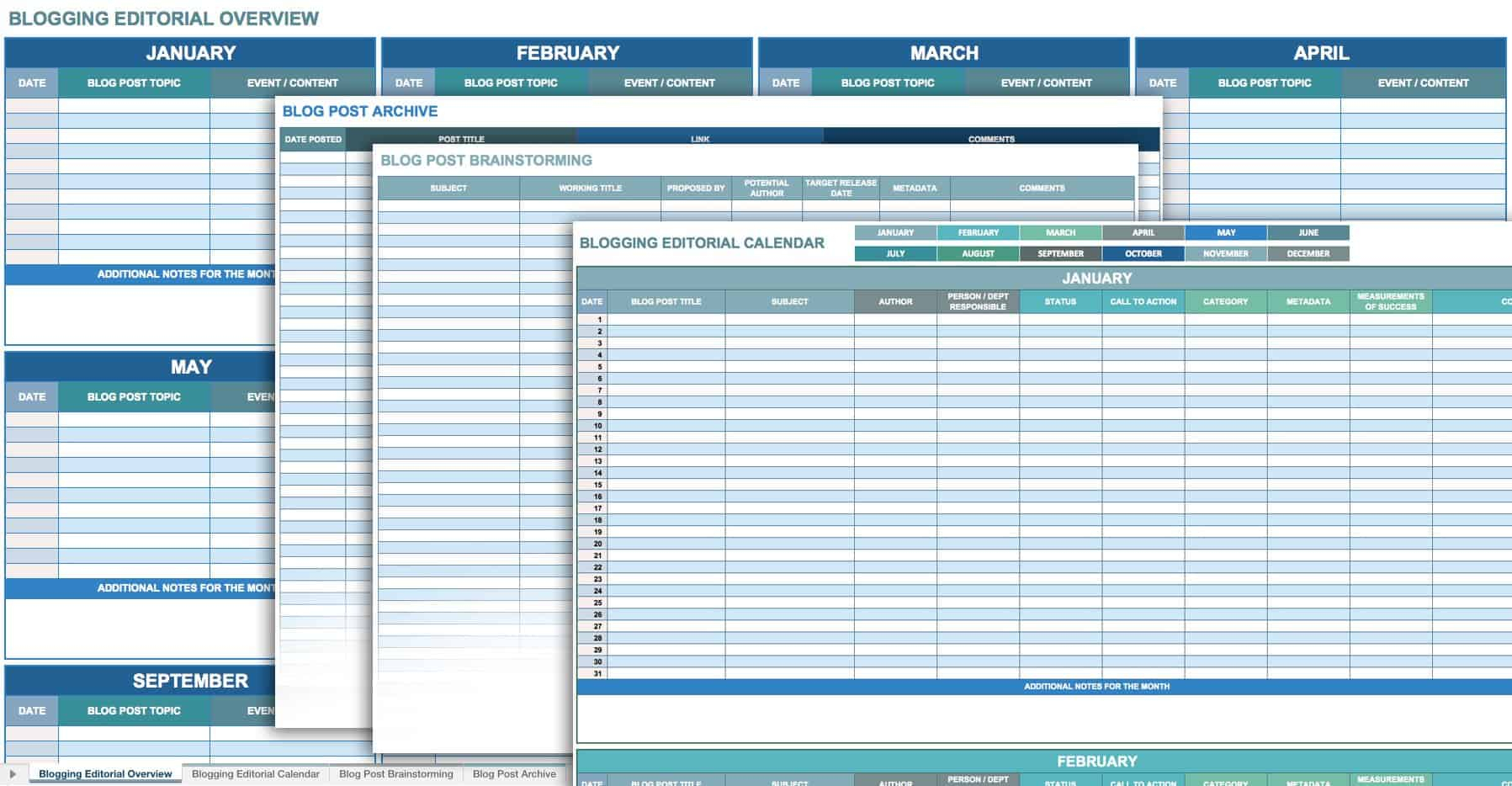 12 Free Social Media Templates | Smartsheet for Smartsheet Social Media Calendar