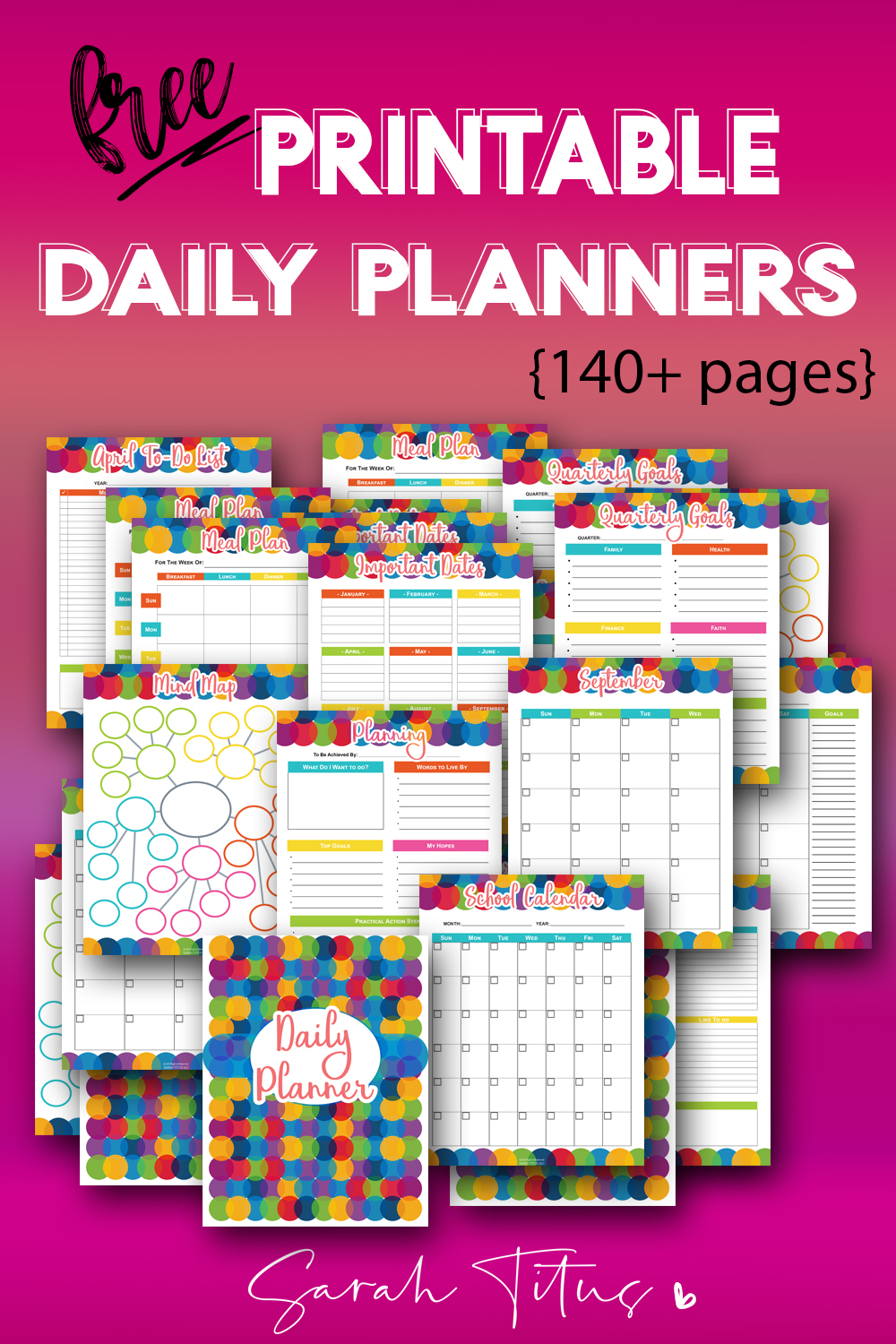 150+ Free Printable Daily Planner Templates That Will Save with regard to Free Printable Daily Planner With Time Slots
