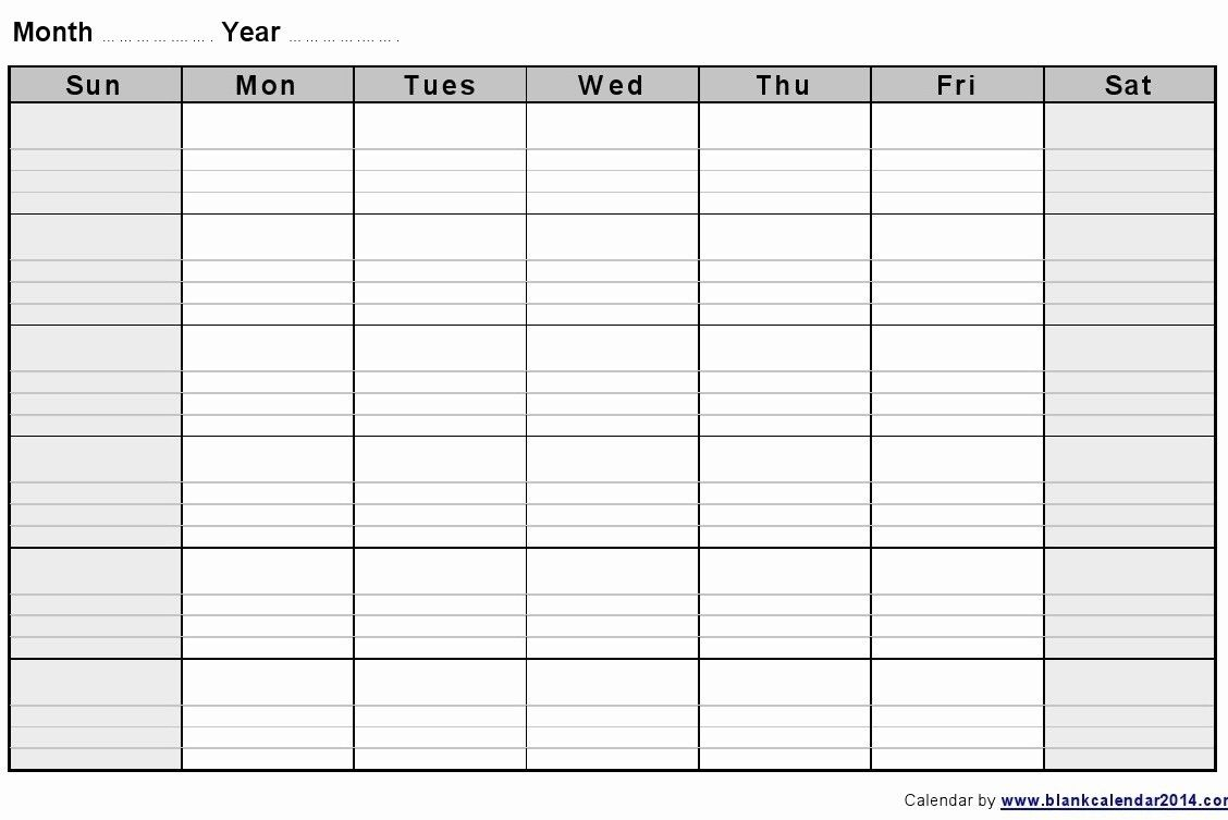2 Week Calendar Printable | Datingsider.co Blank 2 Week throughout 2 Week Blank Calendar