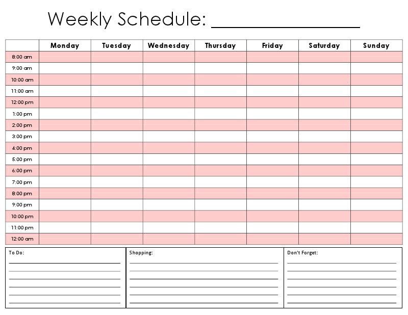 24 Hour Calendar Printable  Calendar Template 2020 with regard to 24 Hour Schedule Template Free
