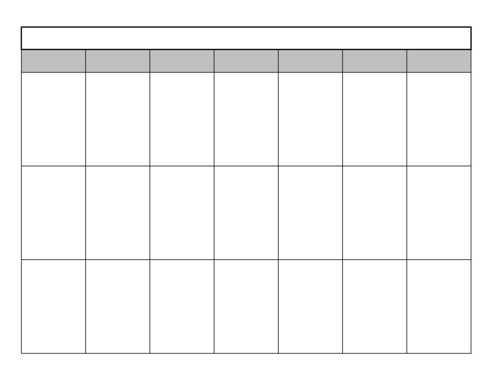 3 Week Calendar  Grude.interpretomics.co Make It | Blank for 2 Week Blank Calendar
