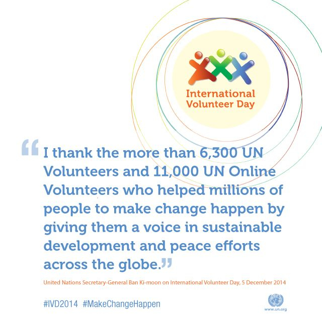 5 December Is International Volunteer Day, A Chance To inside Important International Days In December