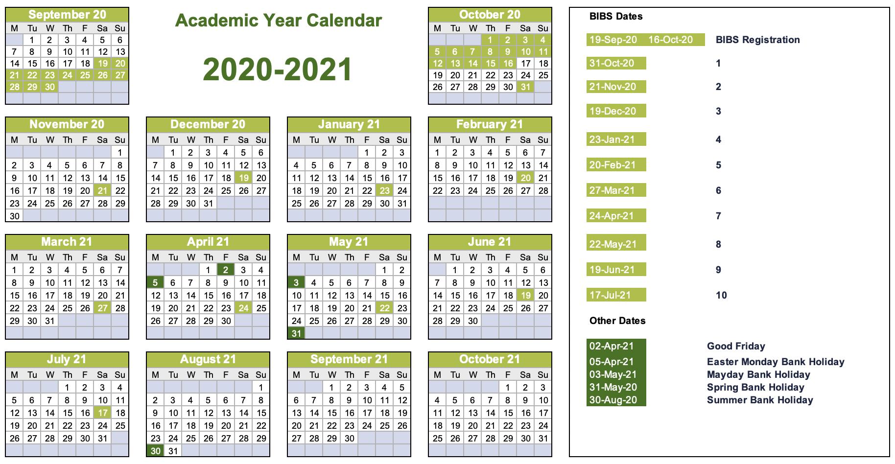 Academic Calendar | Bibs intended for Barr Beacon School Calendar