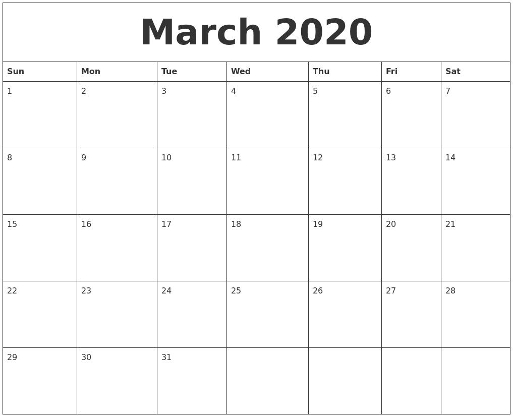 August 2020 Large Printable Calendar within Free Printable Calendar Monday Through Friday