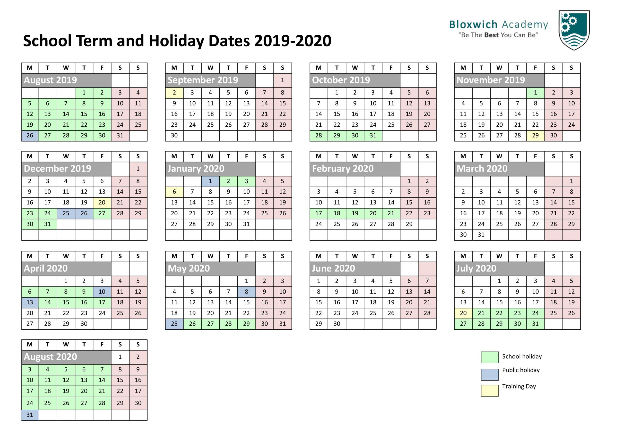 Autumn: Autumn Half Term 2020 with Barr Beacon School Calendar