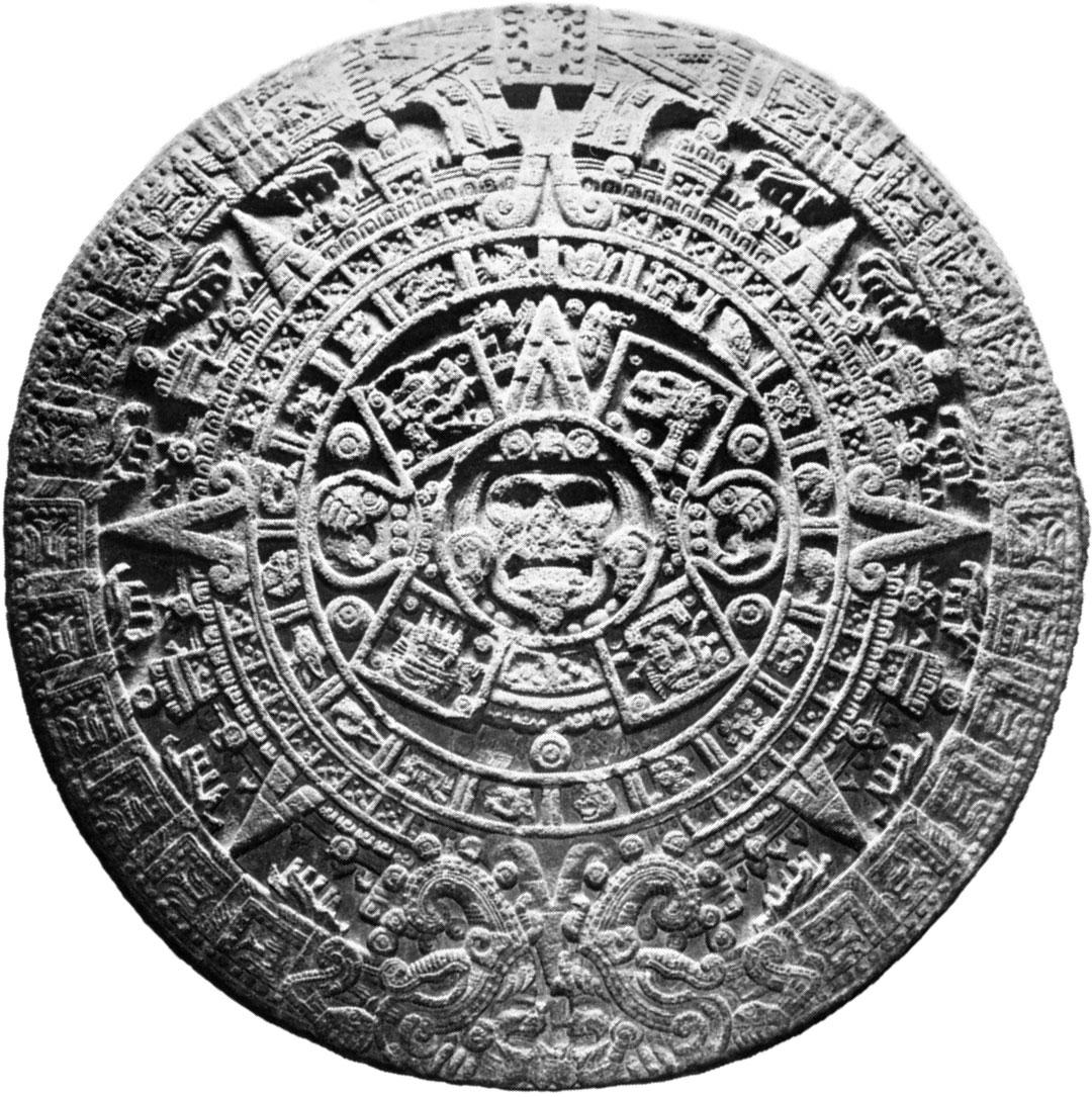 Aztec Calendar | Chronology | Britannica throughout Aztec Calendar Template
