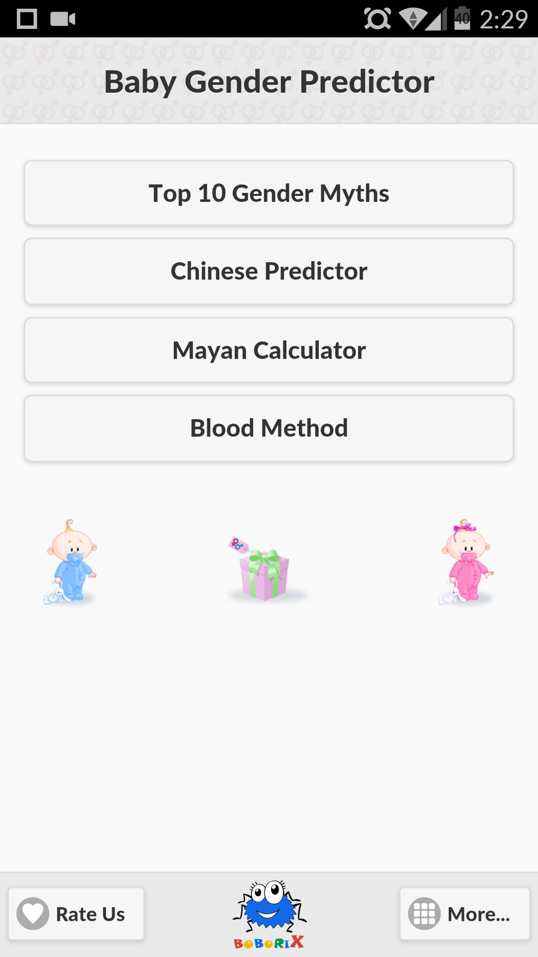 Baby Gender Predictor For Android  Apk Download regarding Mayan Gender Predictor
