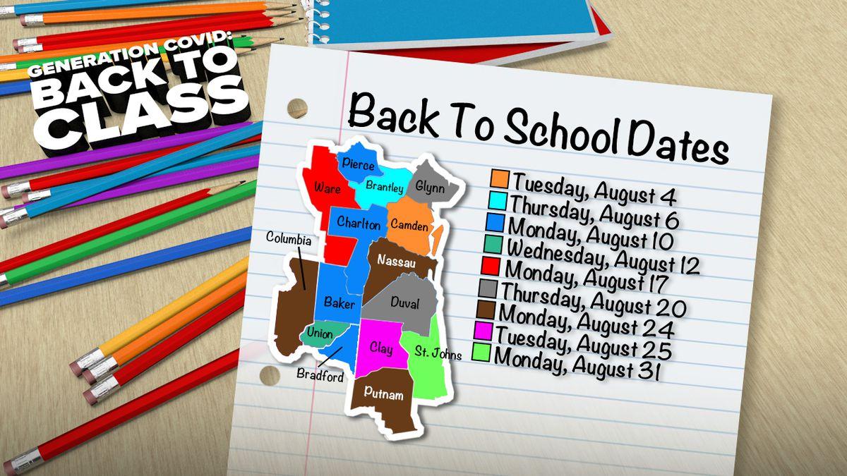Back To School: A Countybycounty Breakdown On School inside Columbia County Ga School Calendar
