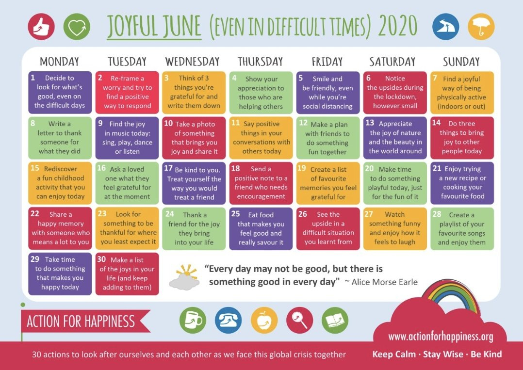 """Barr Beacon School On Twitter: """"Here Is The @Actionhappiness within Barr Beacon School Calendar"""