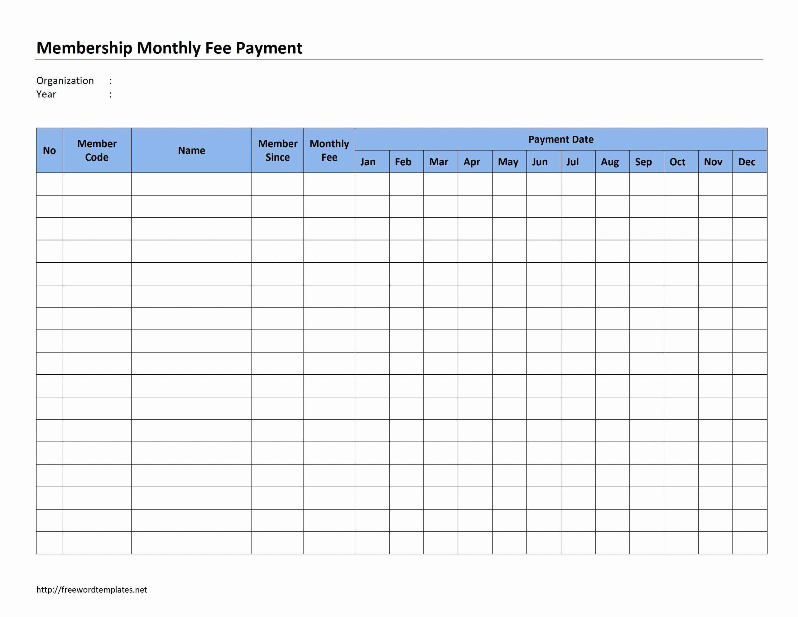 Bill Payment Schedule Template ~ Addictionary regarding Free Printable Monthly Bill Calendar