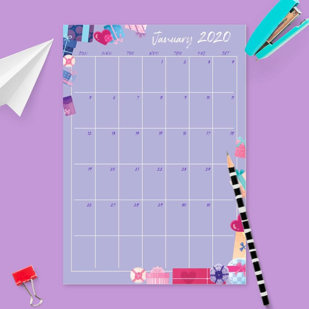 Birthday Calendar  Birthday Calendar Templates Pdf regarding Microsoft Birthday Calendar Template