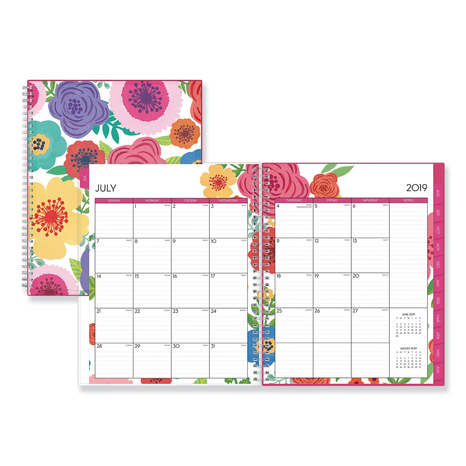 Blue Sky™ Mahalo Academic Year Cyo Weeklymonthly Planner within Calendarsquick 5 Day