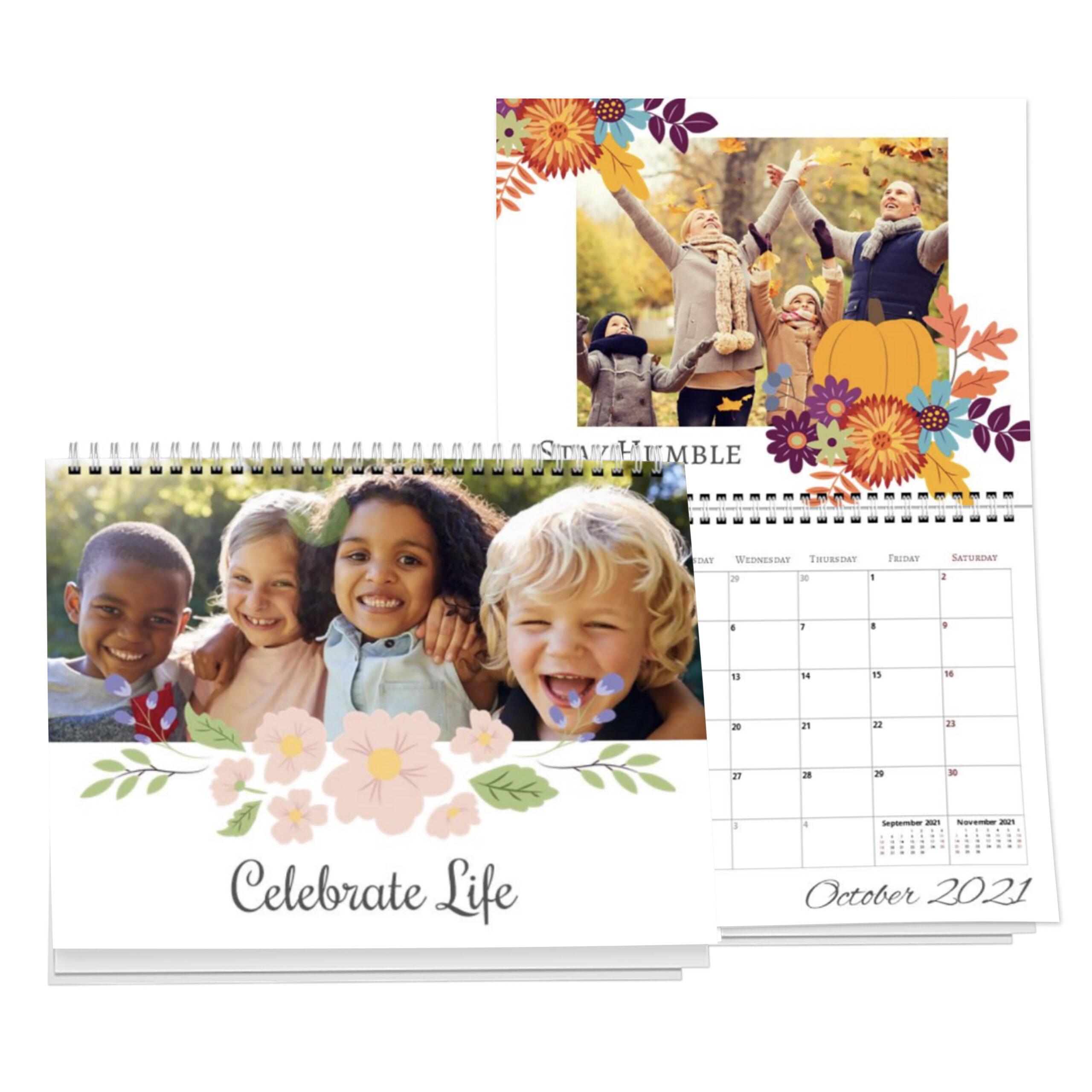 Calendar  8.5X11 Center Spiral pertaining to Shoppers Photo Calendar