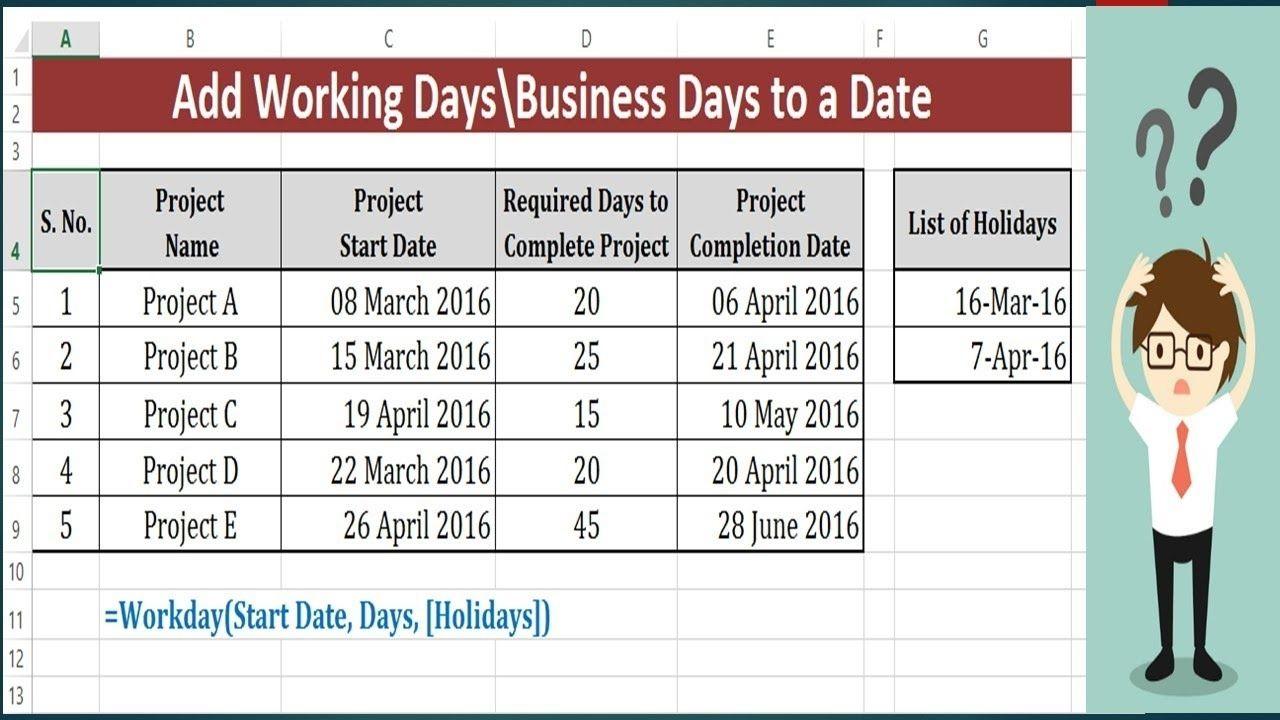 Calendar Countdown Excluding Weekends In 2020 | Calendar in Countdown Excluding Weekends