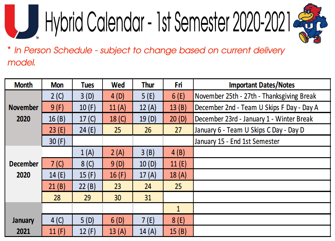 Calendar Valerius  Urbandale Schools pertaining to Calendarsquick 5 Day