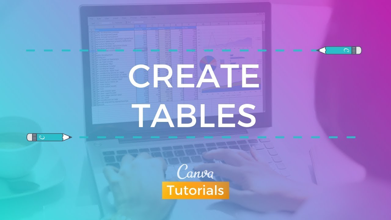 Canva: How To Create A Table for Canva Calendar Maker