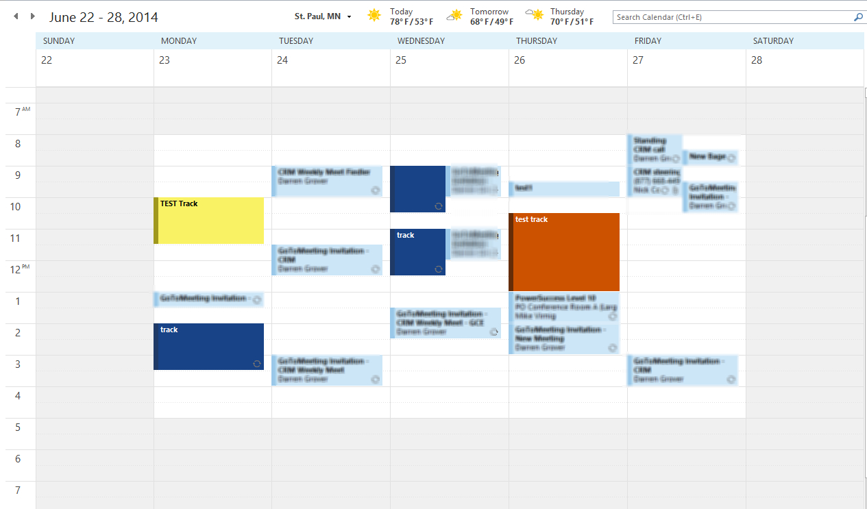 Color Code Your Calendar For Tracked Appointments In intended for Conditional Formatting Outlook Calendar