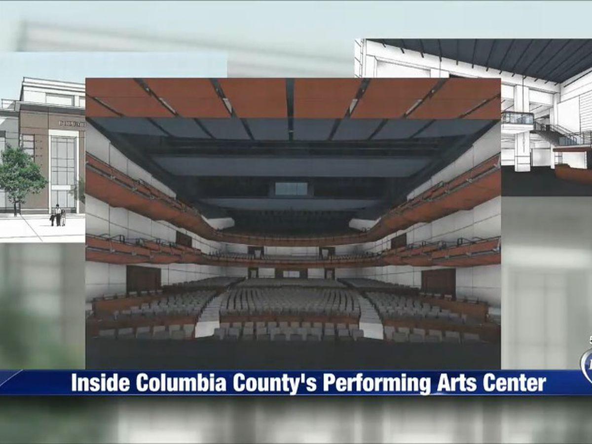 Columbia County Performing Arts Center Starting To Take Shape regarding Columbia County Ga School Calendar