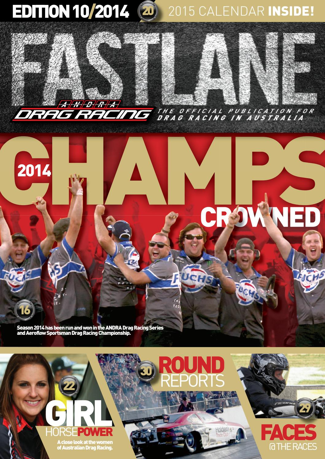 Fastlane Magazine  Issue 10 By Andra Drag Racing  Issuu regarding Benaraby Raceway Calendar