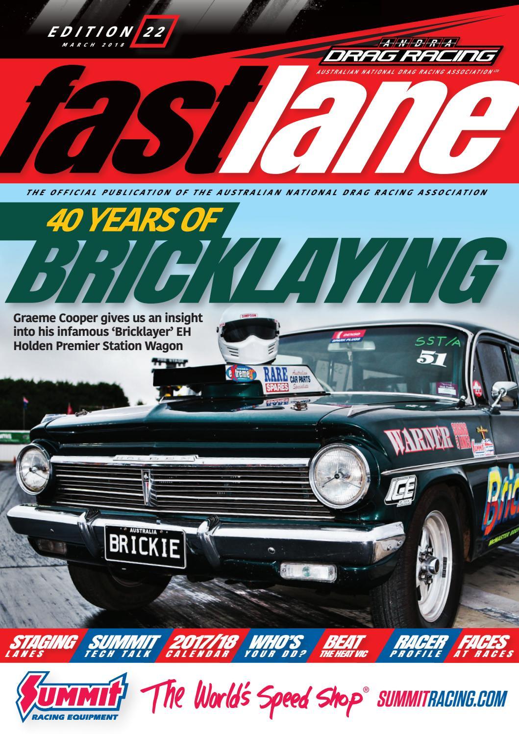 Fastlane Magazine  Issue 22 By Andra Drag Racing  Issuu pertaining to Benaraby Raceway Calendar