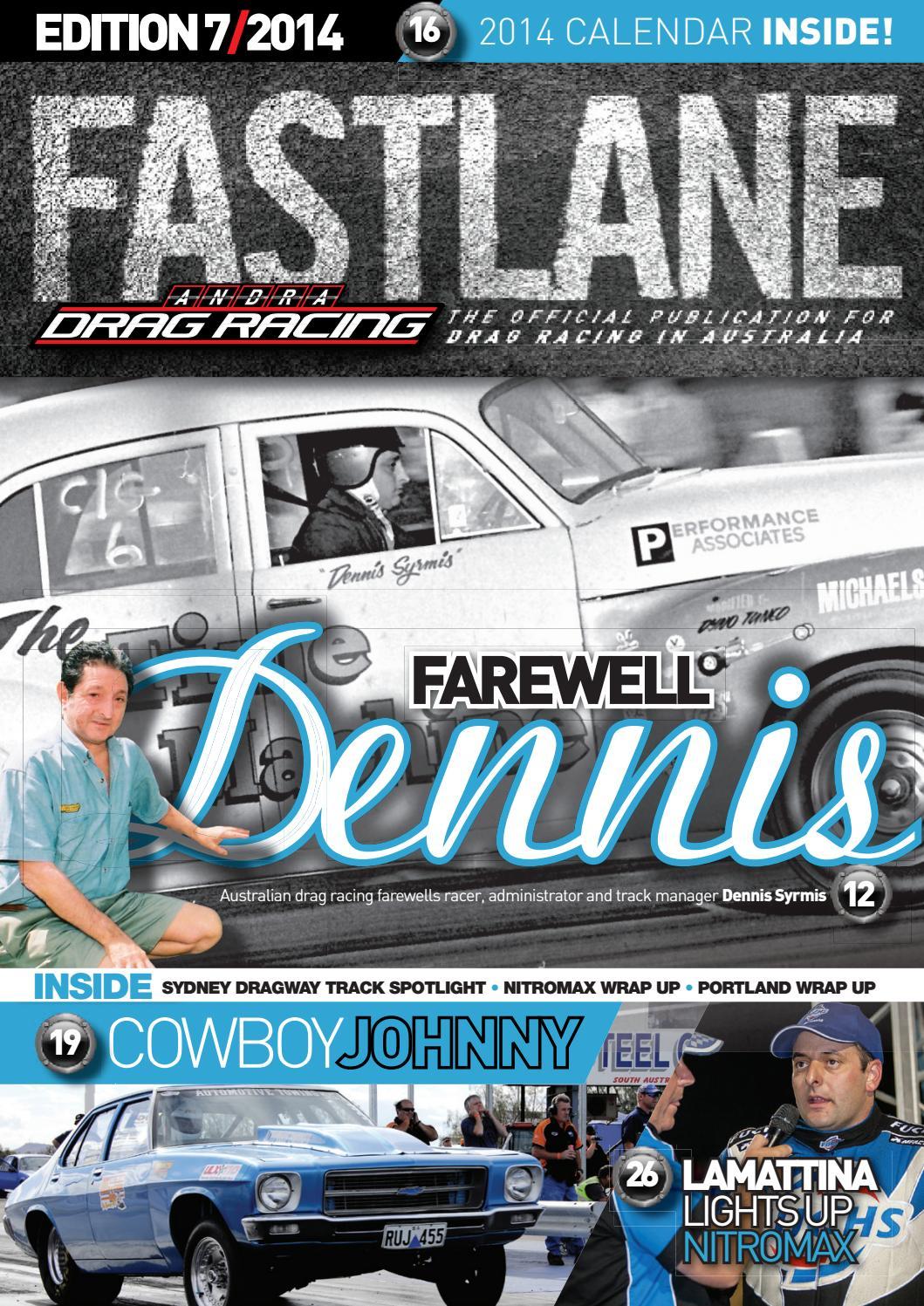 Fastlane Magazine  Issue 7 By Andra Drag Racing  Issuu intended for Benaraby Raceway Calendar