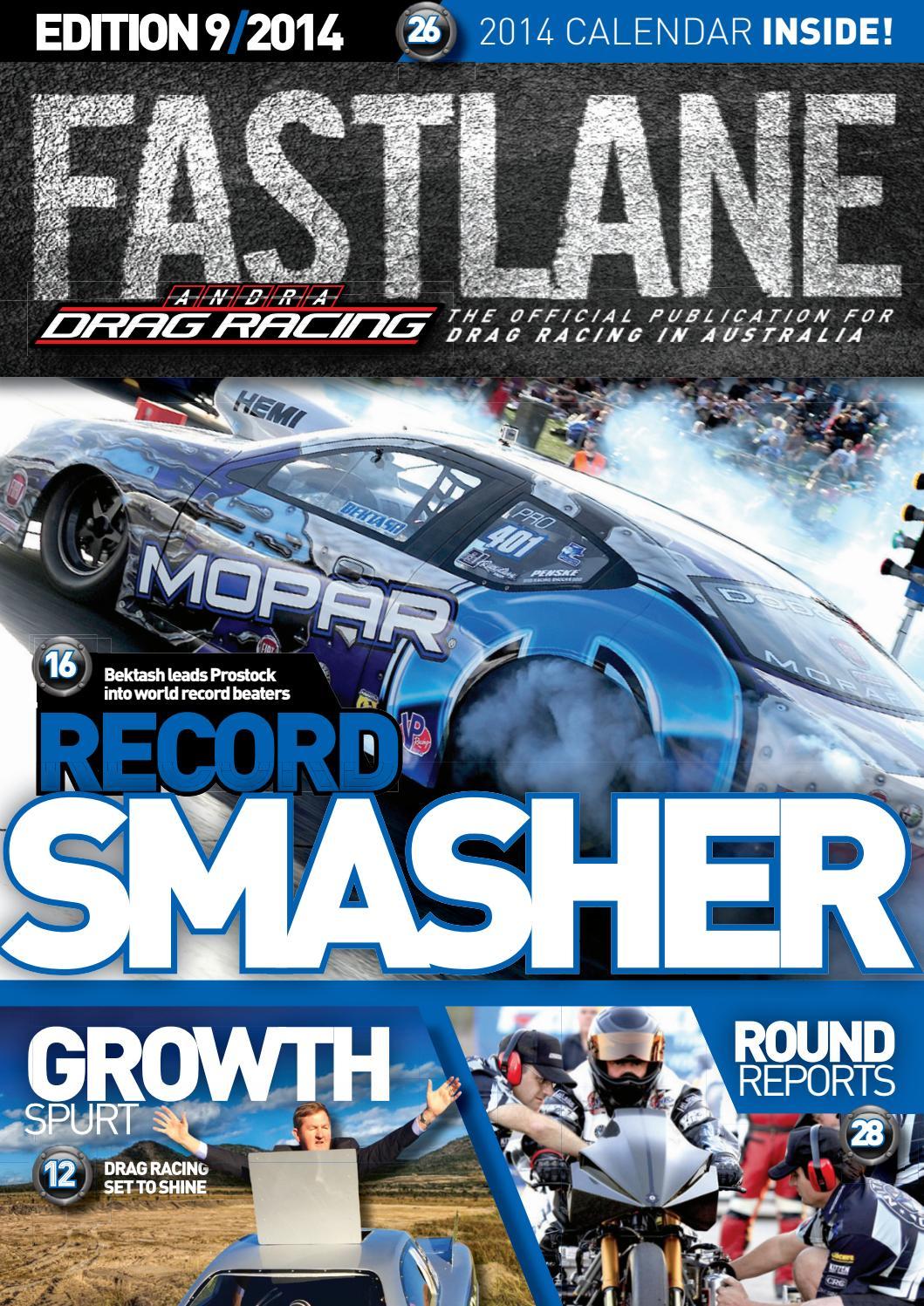 Fastlane Magazine  Issue 9 By Andra Drag Racing  Issuu regarding Benaraby Raceway Calendar