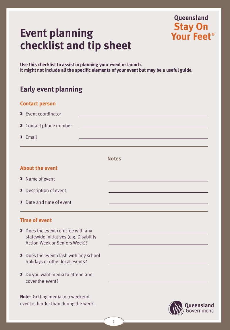 Free 13+ Event Planning Checklist Examples In Pdf | Google inside Corporate Event Planning Checklist Template