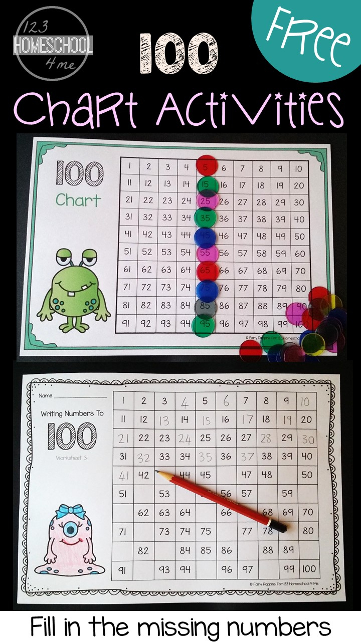 Free Hundreds Chart Worksheets with regard to Hebrew Calendar Worksheets And How To Make One