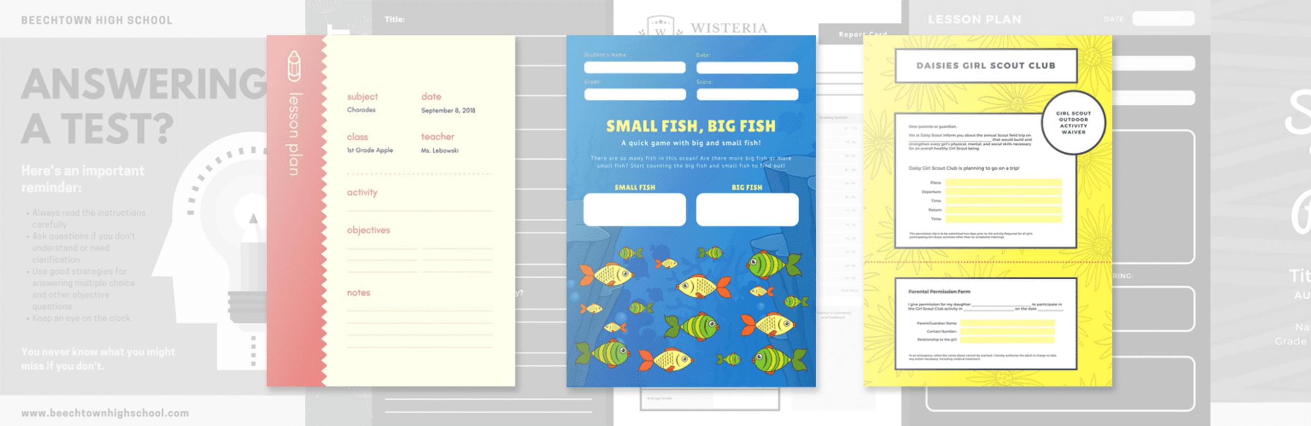 Free Online Class Schedules: Design A Custom Class Schedule within Canva Calendar Maker
