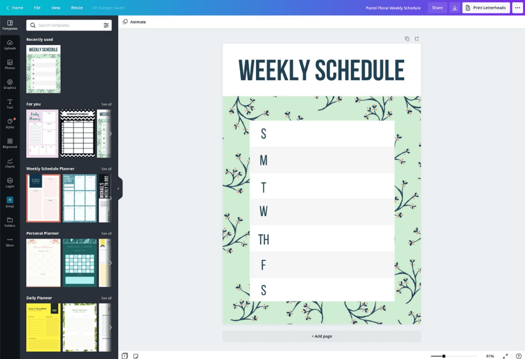 Free Online Weekly Schedule Maker: Design A Custom with regard to Canva Calendar Maker