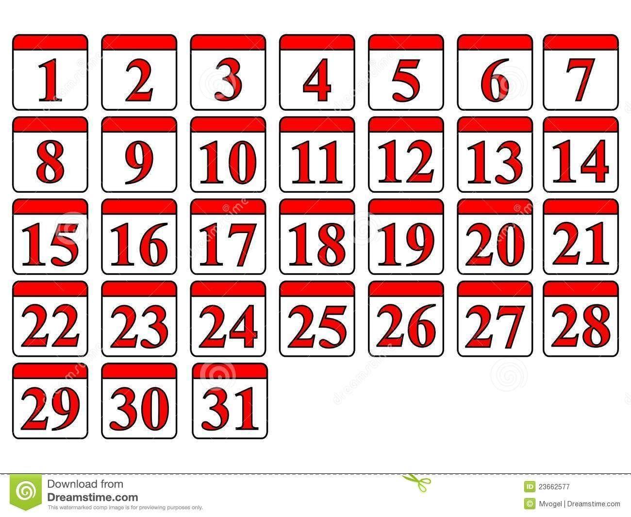 Free Printable Calendar Numbers 131 May In 2020 | Printable in Free Printable Calendar Numbers