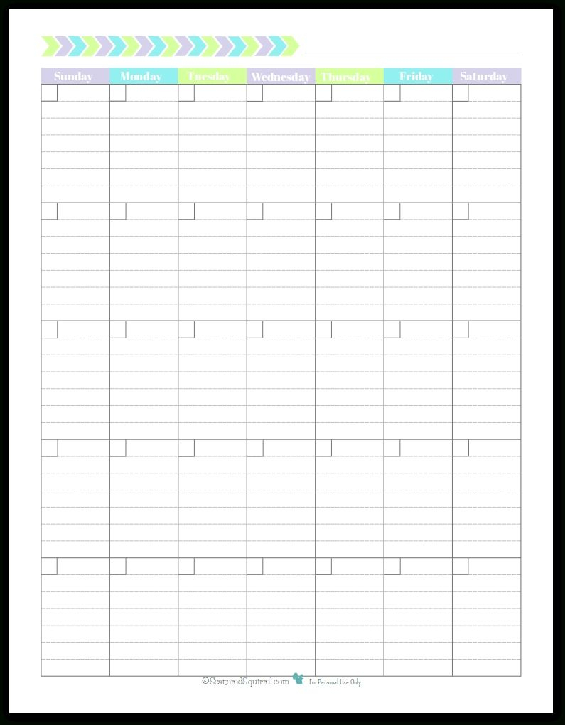 Free Printable Calendar Scattered Squirrel In 2020 | Monthly inside Scattered Squirrel Monthly Calendar