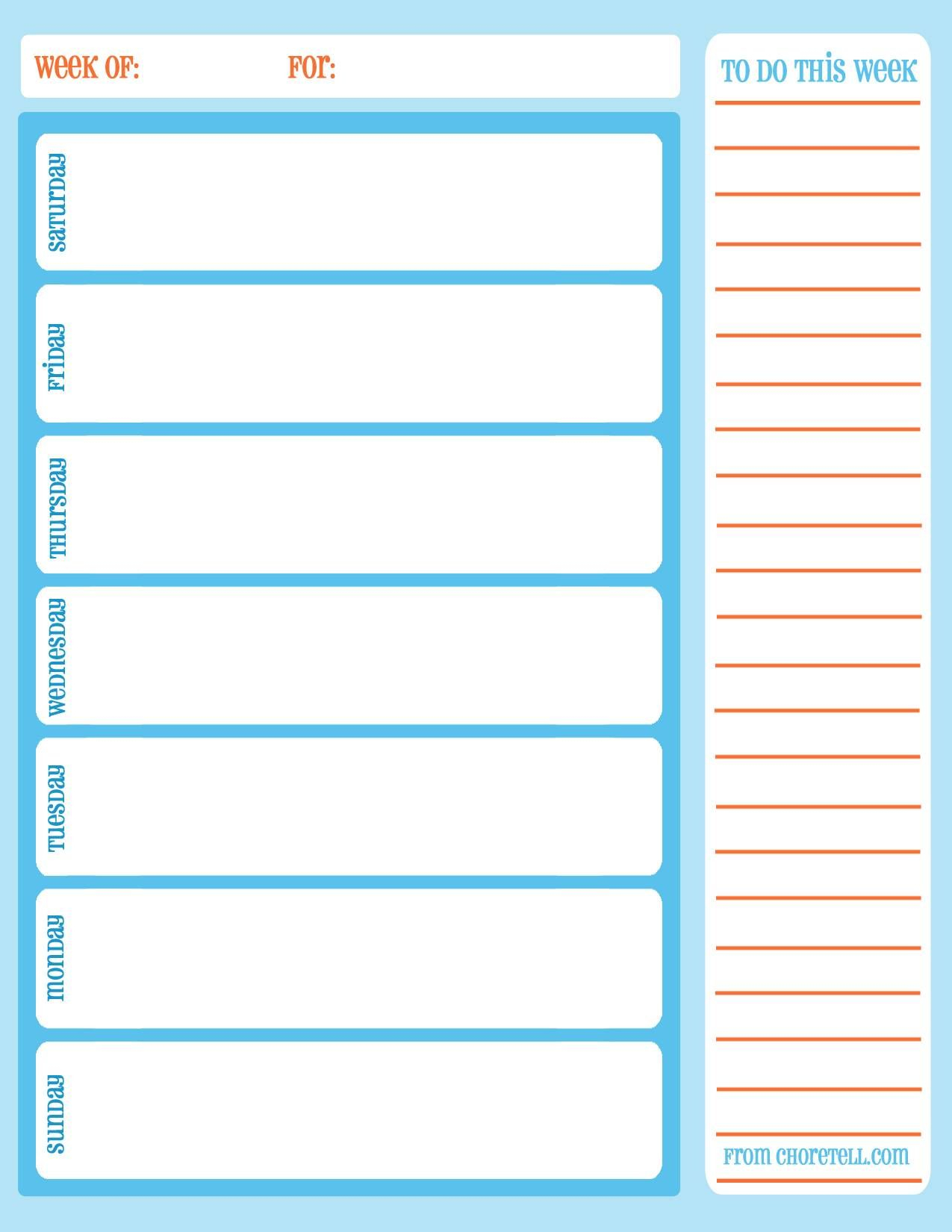 Free Weekly Printable Calendar | Printable Calendar Template regarding Calendarsquick 5 Day