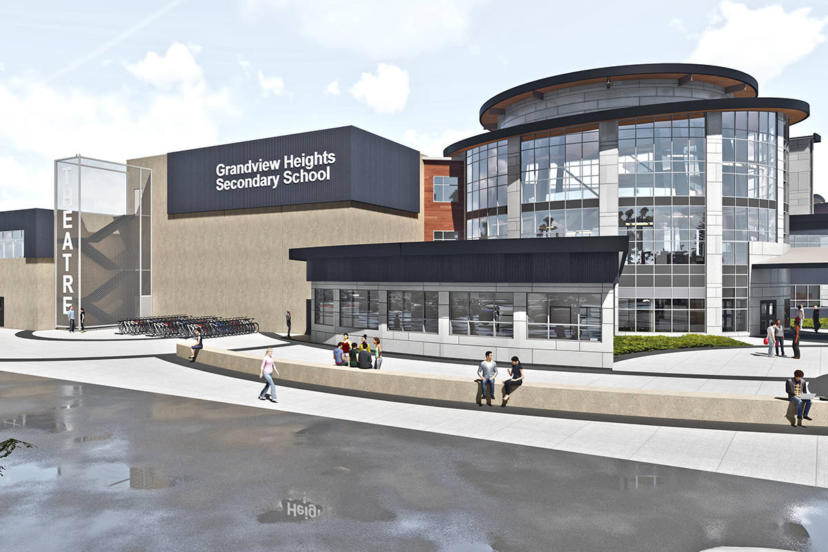Grandview Heights Secondary Delayed  Surrey Nowleader inside Grandview School District Calendar